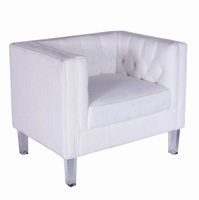 LumiSource Valentina Contemporary Accent Chair