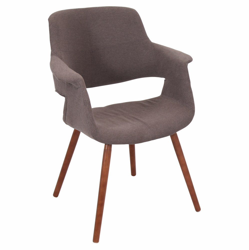 Lumisource Vintage Flair Mid Century Modern Counter Chair