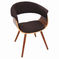 LumiSource Vintage Mod Mid-century Modern Counter Chair