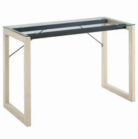 Medley Writing Desk, Natural Clear [FREE SHIPPING]