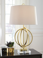Axi - L207184 - Metal Table Lamp (1/CN) - Gold Finish