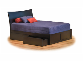 Milano Bed with Flat Panel Footboard Bedroom Set
