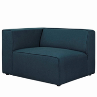 Mingle Fabric Armchair, Blue [FREE SHIPPING]
