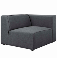 Mingle Fabric Armchair, Gray [FREE SHIPPING]