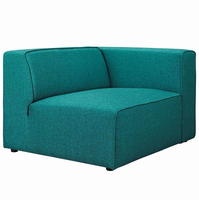 Mingle Fabric Armchair, Teal [FREE SHIPPING]