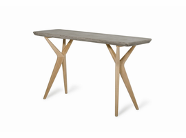 Moderst Dondi Modern Concrete & Oak Console Table