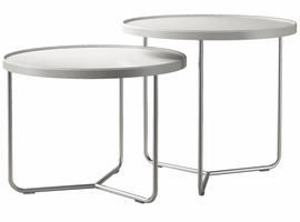 Modloft Adelphi Nesting Side Tables in Alpine