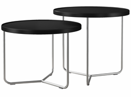 Modloft Adelphi Nesting Side Tables in Black