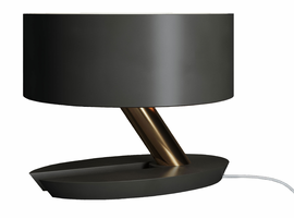 Modloft Albion Table Lamp in Graphite and Brass