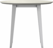Modloft Amsterdam Cafe Table in White Sand Concrete