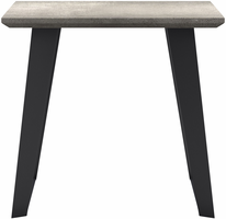 Modloft Amsterdam Side Table in Gray Concrete