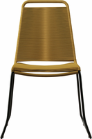 Modloft Barclay Dining Chair in Curry Yellow Cord