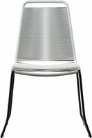 Modloft Barclay Dining Chair in White Cord