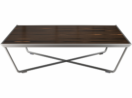 Modloft Cale Coffee Table in Cathedral Ebony