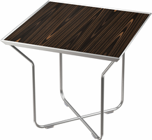 Modloft Cale Side Table in Cathedral Ebony