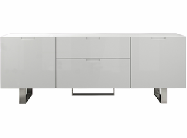 Modloft Eldridge Media Cabinet in Glossy White