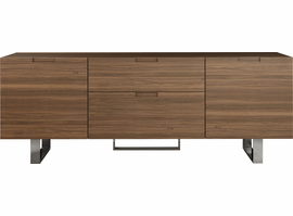 Modloft Eldridge Media Cabinet in Walnut