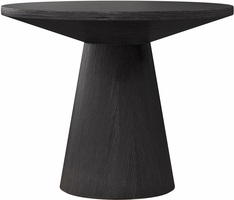 Modloft Eyre Side Table in Black Oak