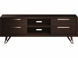 Modloft Grand Media Cabinet in Espresso