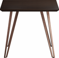 Modloft Grand Side Table in Espresso