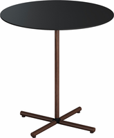 Modloft Highbury 20in. Side Table in Black on Rosewood