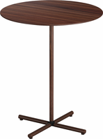 Modloft Highbury 24in. Side Table in Rosewood