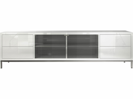 Modloft Lenox Media Cabinet in Glossy White
