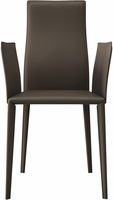 Modloft Lucca Dining Chair in Reclaimed Dove Gray