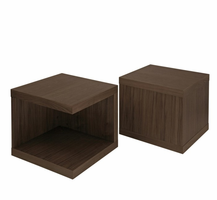 "Modloft MD317-NS-WAL Ludlow 20"" Wide Walnut Nightstand"