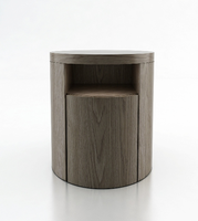 "Modloft MD313-NS-WAL Mulberry 19"" Wide Walnut Nightstand"