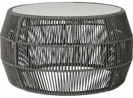 Modloft Volta Cocktail Table in Shades of Gray Cord
