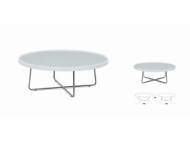 Modrest 213E - Modern White Coffee Table
