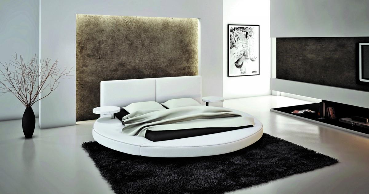 Modrest Atlas Modern Round Bed - Round Beds