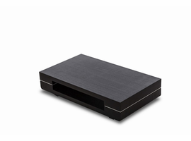 Modrest Cave - Modern Black Oak Coffee Table