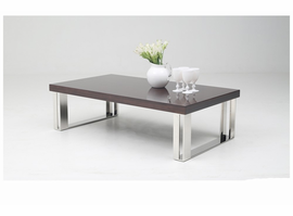Modrest Courtland Modern Golden Teak Coffee Table
