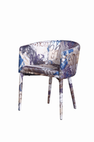 Modrest Dixie Modern Fabric Dining Chair