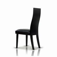 Escape - Modern Black Oak Dining Chair (Set of 2)