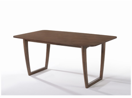 Modrest Jordan Modern Walnut Dining Table