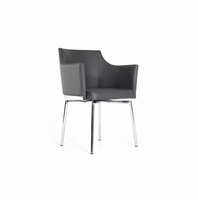 Modrest Kaweah Modern Grey Dining Chair