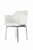Modrest Kaweah Modern White Dining Chair