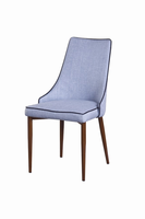 Modrest Lenora Modern Blue Dining Chair