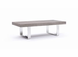 Modrest Lola Modern Grey Brush Coffee Table