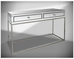 Modrest Lydford Mirrored Console Table