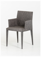 Modrest Medford Modern Grey Fabric Dining Chair