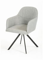 Modrest Synergy Modern Grey Fabric Dining Chair