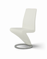 Zaida - Modern White Dining Chair (Set of 2)