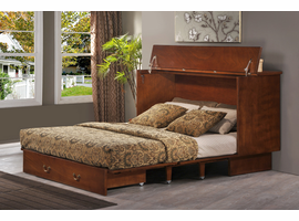 Murphy Bed Fu Chest Creden-ZzZ-Chest Cabinet Bed - Pekoe