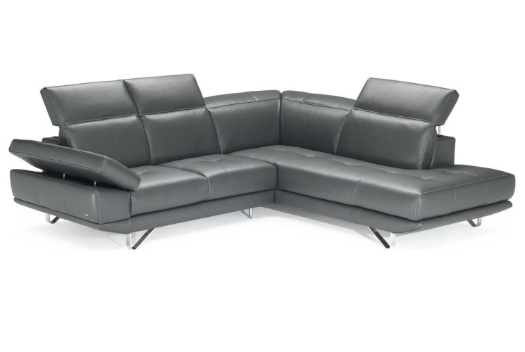 Editions B766-sec Leather Sectional