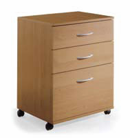 Nexera 5092 3 Drawer Mobile File