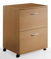 Nexera 5093 2 Drawer Mobile File
